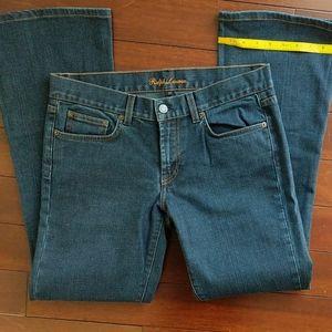 Ralph Lauren jeans w/ jeweled blue horse, size 30